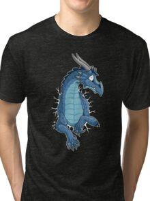STUCK - Blue Dragon Tri-blend T-Shirt