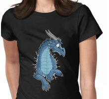 STUCK - Blue Dragon Womens Fitted T-Shirt