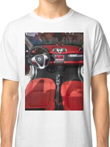 Smart ForTwo Turbo Cabrio Tritop Inside [ Print & iPad / iPod / iPhone Case ] Classic T-Shirt