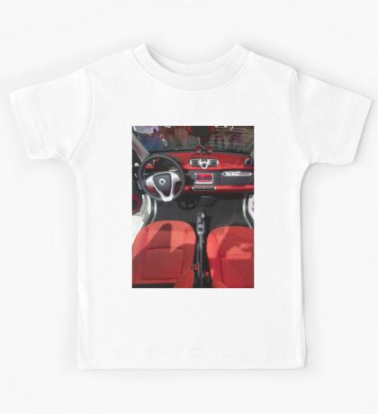 Smart ForTwo Turbo Cabrio Tritop Inside [ Print & iPad / iPod / iPhone Case ] Kids Tee