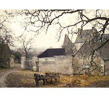 Farmyard in Brittany by alhovey