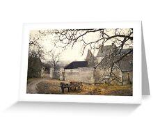 Farmyard in Brittany Greeting Card