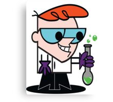 Dexters Lab Canvas Print