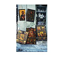 Icons in Athens Photographic Print