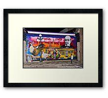 Ybor Tampa Framed Print
