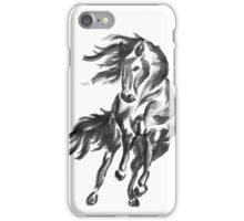 Sumi-e Horse iPhone Case/Skin