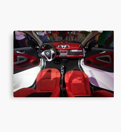 Smart ForTwo Turbo Cabrio Tritop Inside [ Print & iPad / iPod / iPhone Case ] Canvas Print