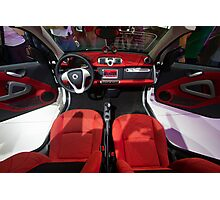 Smart ForTwo Turbo Cabrio Tritop Inside [ Print & iPad / iPod / iPhone Case ] Photographic Print