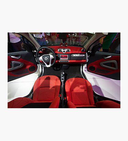 Smart ForTwo Turbo Cabrio Tritop Inside [ Print & iPad / iPod / iPhone Case ] Photographic Print