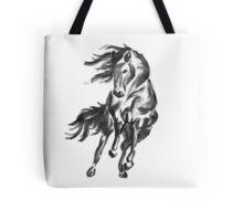 Sumi-e Horse Tote Bag