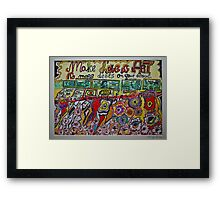 Views 1366. Make Love & Art ,  No more debts on your account. Amen!  by Andrzej Goszcz.  was featured in Diversuality – Queer and Gender. Buy what you like!  Framed Print