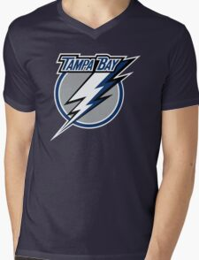 Lightning Tampa Bay Sport Mens V-Neck T-Shirt
