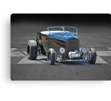 1932 Ford Roadster on B/W Canvas Print