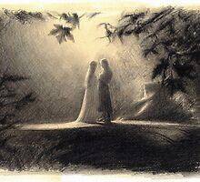 Aragorn & Arwen by ElvenArt