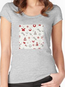 Christmas ornaments  Women's Fitted Scoop T-Shirt