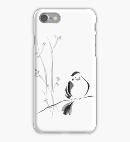 Sumi-e Bird iPhone Case/Skin