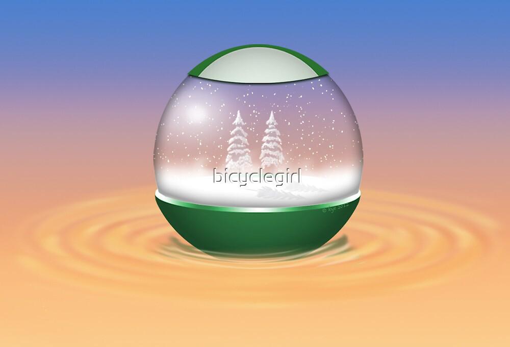 Snow Globe by bicyclegirl