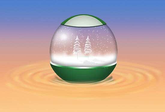Snow Globe by bicyclegirl