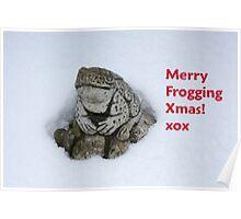 Merry Frogging Xmas! Poster