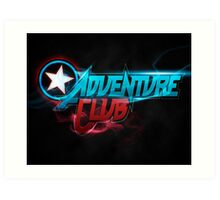 Adventure Club (Custom Poster) Art Print