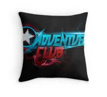 Adventure Club (Custom Poster) Throw Pillow