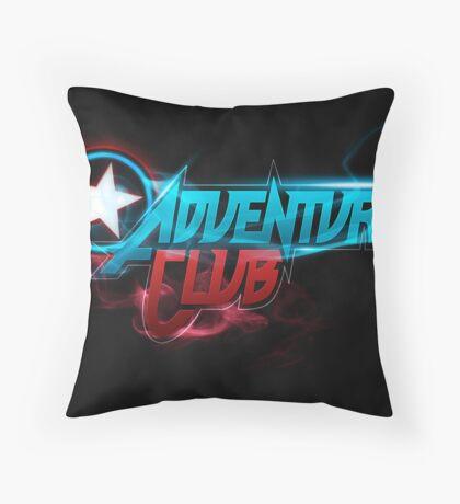 Adventure Club (Custom Poster) Throw Pillow