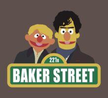 221B Baker Street - Sherlock Baby Tee