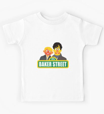 221B Baker Street - Sherlock Kids Tee