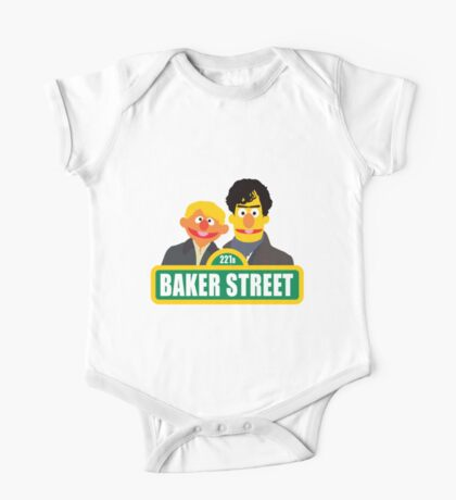 221B Baker Street - Sherlock One Piece - Short Sleeve