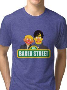 221B Baker Street - Sherlock Tri-blend T-Shirt