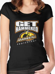 Hammerall ELE Protectant-Black Women's Fitted Scoop T-Shirt