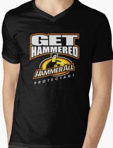 Hammerall ELE Protectant-Black Mens V-Neck T-Shirt