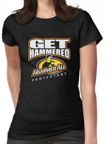 Hammerall ELE Protectant-Black Womens Fitted T-Shirt