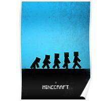 99 Steps of Progress - Minecraft Poster