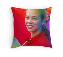 Light on a Rainy Day Throw Pillow