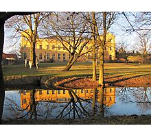 Mirrored Palace Photographic Print
