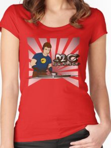 MC Hammer v1 Women's Fitted Scoop T-Shirt