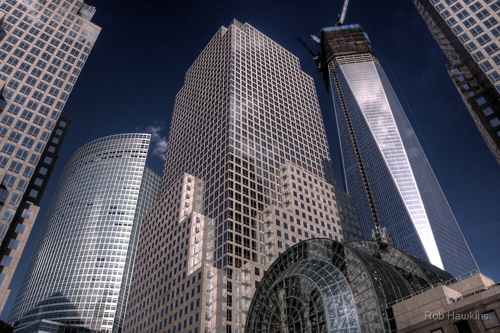 World Financial Centre 1 by Rob Hawkins