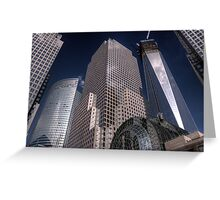 World Financial Centre 1 Greeting Card