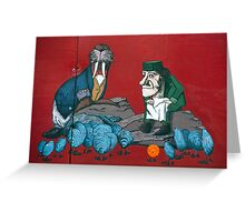 The Walrus & The Carpenter Greeting Card
