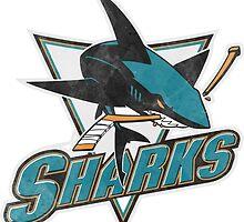 Sharks san Jose sport by Kazamplu