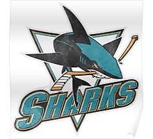 Sharks san Jose sport Poster