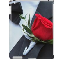 Groom's Bloom iPad Case/Skin