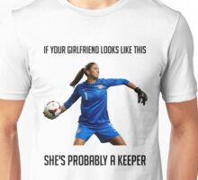 Hope Solo - She's Probably a Keeper Unisex T-Shirt