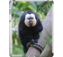 Ozzy ties himself to a tree. iPad Case/Skin