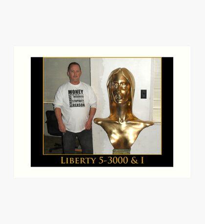 Liberty 5-3000 & I Art Print