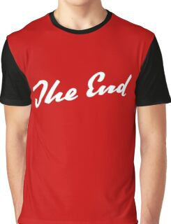 Sherlock Elementary - The End Graphic T-Shirt