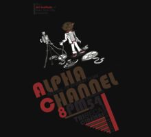 Alpha Channel-Ricky Meow Kids Tee