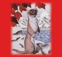 Weasel in Fall Baby Tee