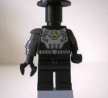 LEGO® Custom Cyber Droid Shadow Soldier Minifigure  by Chillee